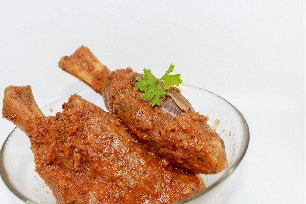 CHURO BRAISED ORANGE LAMB SHANK