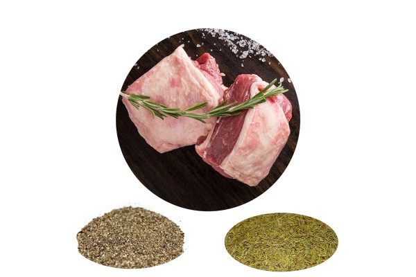 LAMB BBQ BUNDLE 2: Black Pepper Rosemary Canterbury Lamb Rump (350-400g) (Chilled)